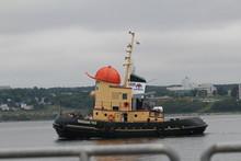 Remorqueur  Theodore Dans Le Quai Halifax