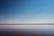 Minimalist Landscape Blue And ...