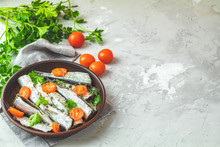 Sardines With Tomatoes Slices ...