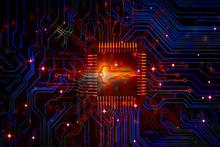 Key Keywords Icon Cyber Securi...