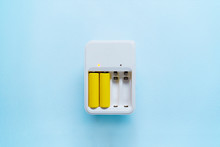Picture Of Charger With Yellow...