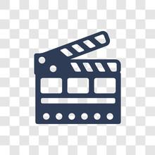 Cinema Flapper Icon Vector