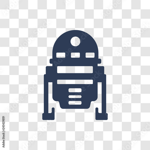 R2D2 icon vector Wallpaper Mural