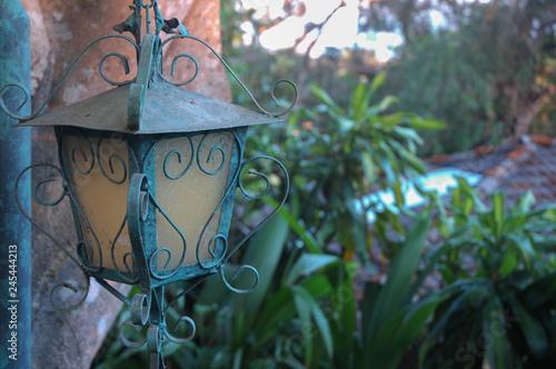 Photo  Decorative Lantern Closeup