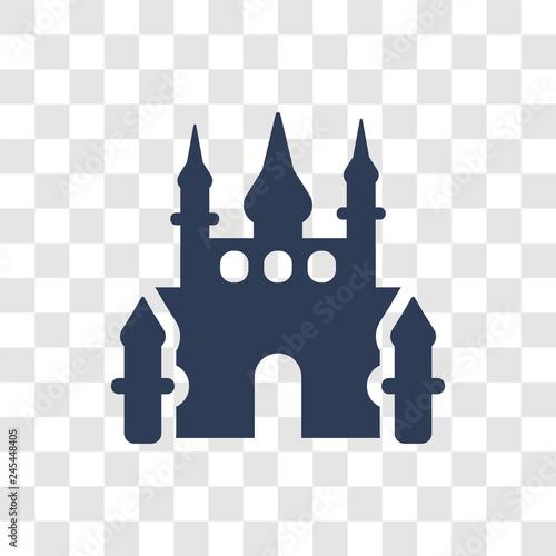 Disneyland icon vector Wallpaper Mural