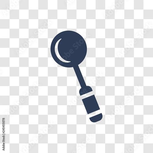 Fotografia, Obraz  tablespoon icon vector
