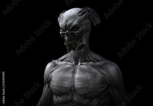 Cuadros en Lienzo Demonic Figure