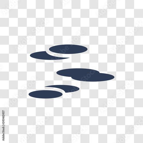 altostratus icon vector Tablou Canvas