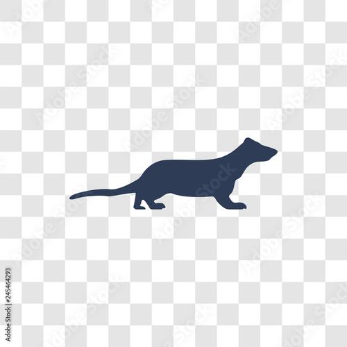Fotografia, Obraz  Polecat icon vector