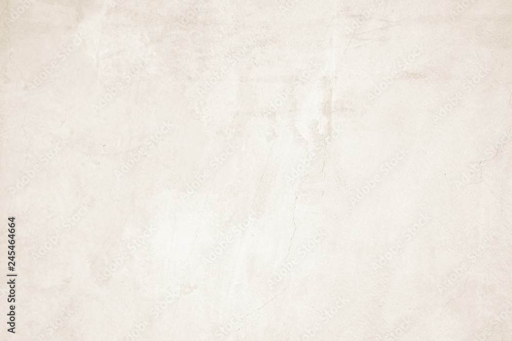 Fototapety, obrazy: Cream concreted wall for interiors texture background..