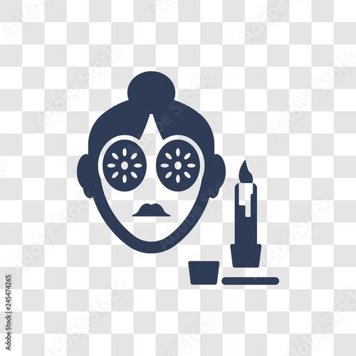 Fotografie, Obraz  Woman Healthy Treatment icon vector