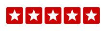 Five Stars Customer Product Ra...