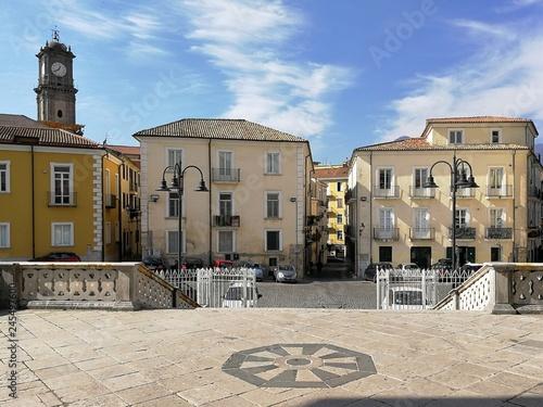 Avellino - Vista dal sagrato della cattedrale Canvas Print
