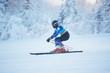 Super g ski racer