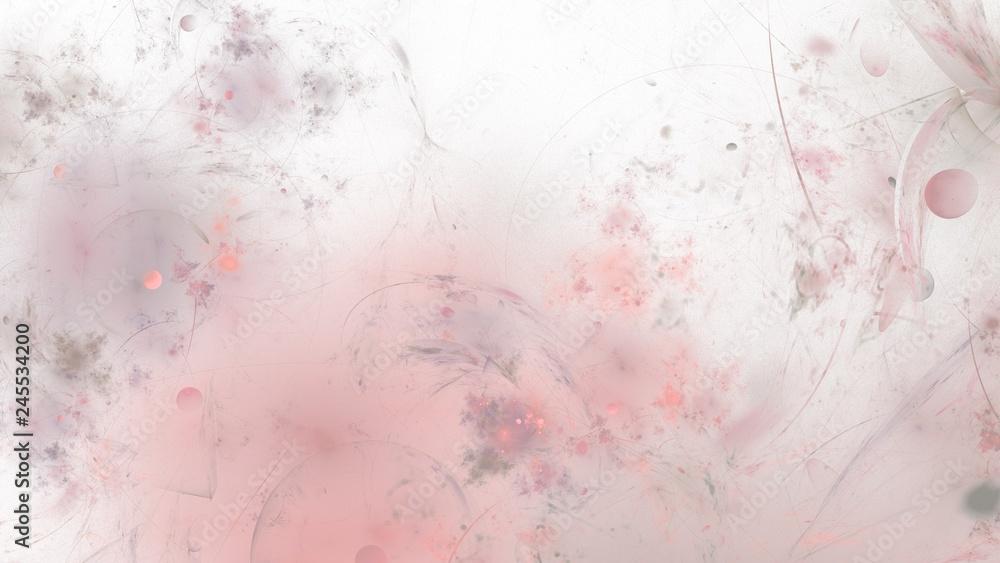 Fototapety, obrazy: Wundervolle Hintergrundgrafik mit organischen Elementen - Altrosa