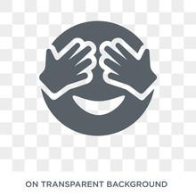 Shy Emoji Icon. Shy Emoji Desi...