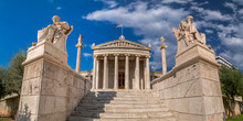 Exterior View Of The Academy Of Athens, Greece