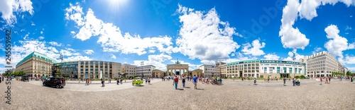 Berlin, Brandenburger Tor, Pariser Platz
