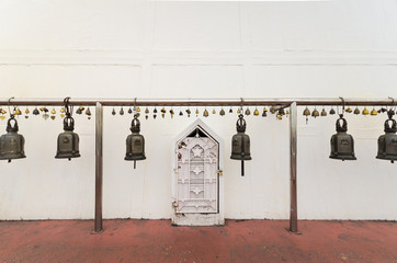 Bells in Buddhist temple, Bells use worship in Buddhism.