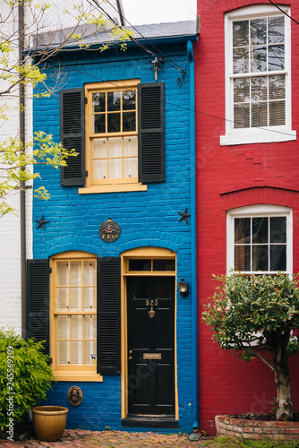 Valokuva The Spite House, in Alexandria, Virginia