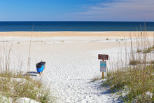 Scenic Entrance To The Beach A...