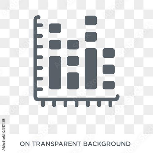 Fotografía  Bar chart icon