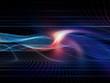 canvas print picture Virtualization of Virtual World