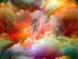 canvas print picture - Accidental Color Motion