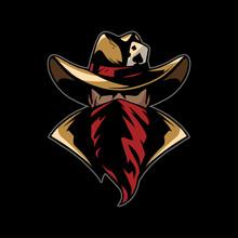 Cowboy With Red Bandana