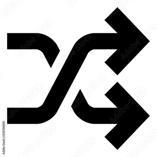 Obraz Random Order Vector Icon.eps - fototapety do salonu