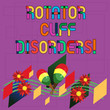 Text sign showing Rotator Cuff Disorders. Conceptual photo tissues in the shoulder get irritated or damaged Colorful Instrument Maracas Handmade Flowers and Curved Musical Staff