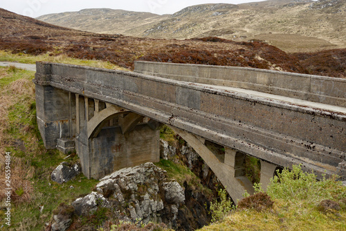 Fotografie, Obraz  Bridge to nowhere, Isle of Lewis, outer hebrides