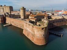 Vecciha Fortress In Livorno It...