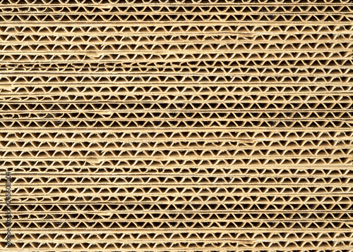 Obraz corrugated cardboard sheets - fototapety do salonu