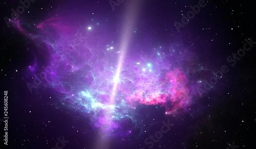 Photo  Reflection nebula around the pulsar