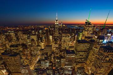 Panel Szklany Nowy York Light of life from new york city, Manhattan, USA