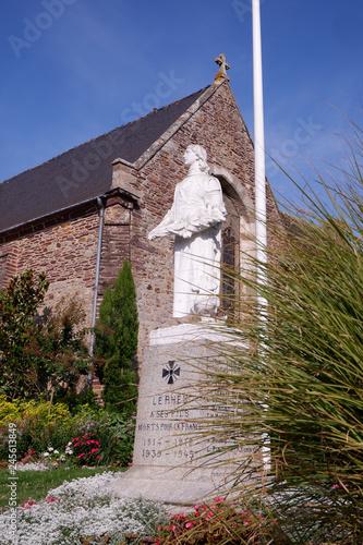 In de dag Historisch mon. statue commémorative