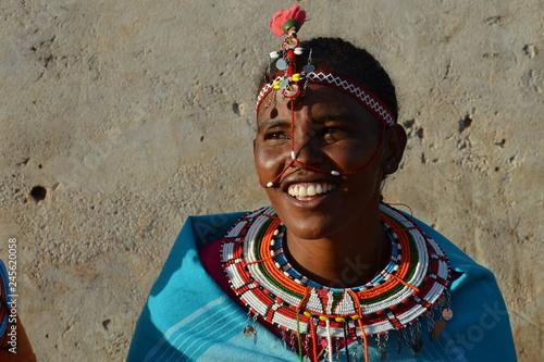 Photo Traditional Samburu Woman