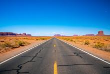 Endless Infinite Road That Goe...