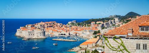In de dag Centraal Europa Old town of Dubrovnik in summer, Dalmatia, Croatia