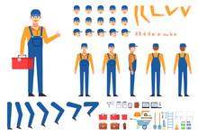 Worker, Mechanic, Builder In O...