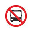 no bus street sign