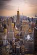 NY at dusk