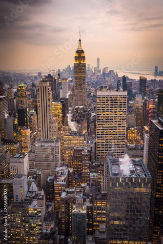 Photo  NY at dusk