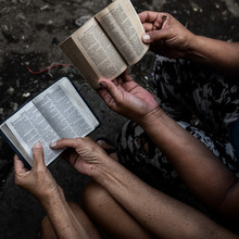Bible Reading And Comparing In...