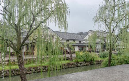 Foto op Canvas Asia land 倉敷美観地区 倉敷川畔の商家