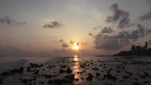 Sunset Over The Indian Ocean R...