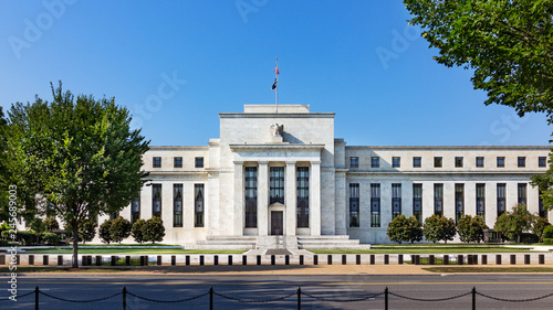 Foto op Plexiglas Historisch geb. Federal reserve building, the headquater of Federal reserve bank. Washington DC, USA.