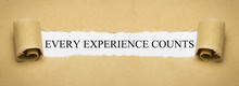 Every Experience Counts