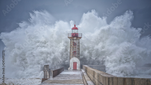 Canvas Print Perfect Lighthouse